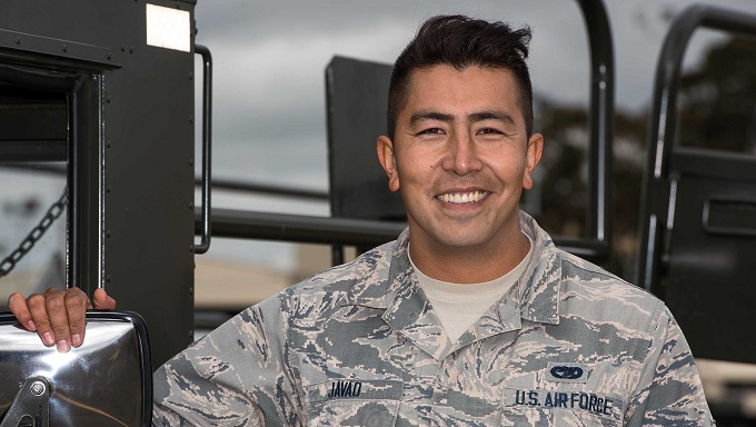 From Afghanistan to Airman